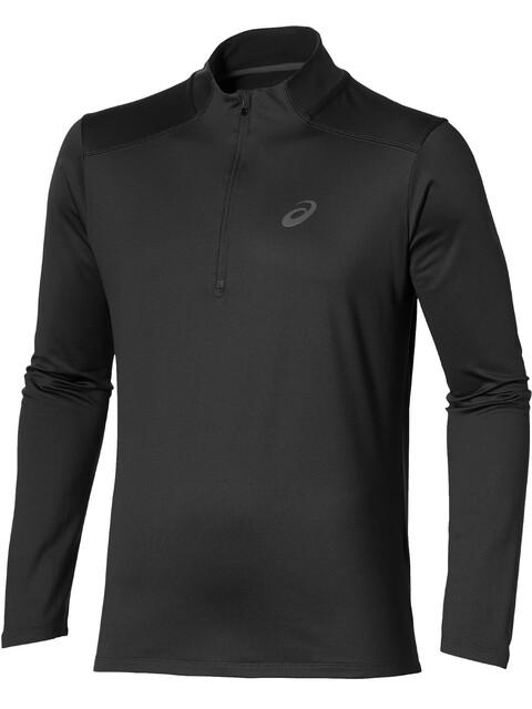 asics Winter - Camiseta manga larga running Hombre - negro